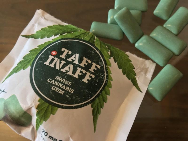 Taff Inaff Cannabis Kaugummi
